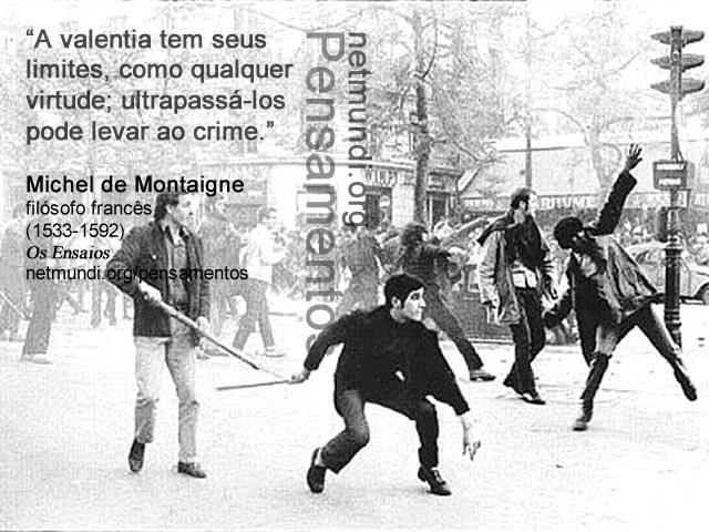 Michel de Montaigne, filósofo francês, (1533-1592), Os Ensaios