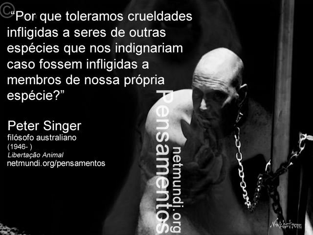 peter singer, filósofo australiano, libertação animal, diriotos dos animais