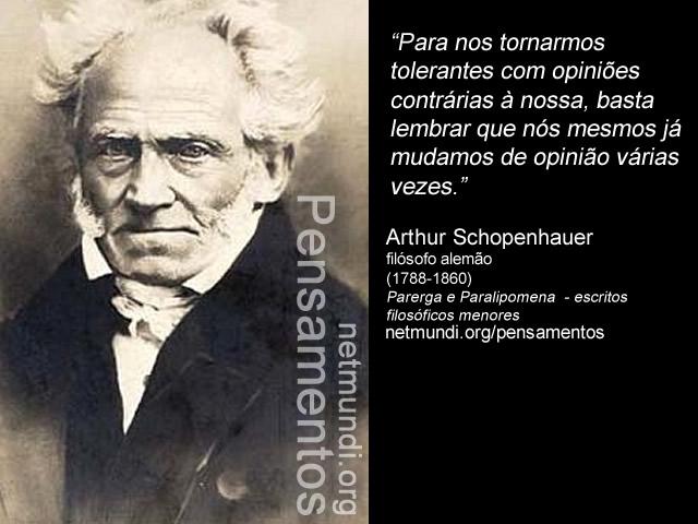 Arthur Schopenhauer filósofo alemão (1788-1860) Parerga e Paralipomena - escritos filosóficos menores