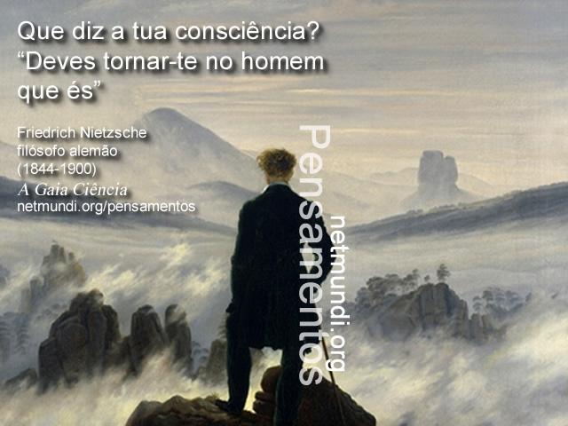 Friedrich Nietzsche, filósofo alemão, (1844-1900), A Gaia Ciência