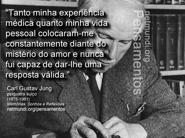 Carl Gustav Jung, Psiquiatra suíço, pai do inconsciente coletivo
