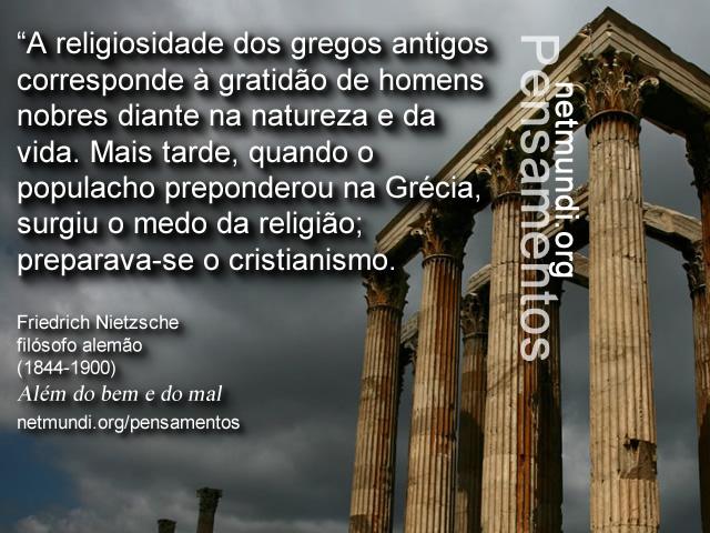 Friedrich Nietzsche, filósofo alemão, Além do bem e do mal