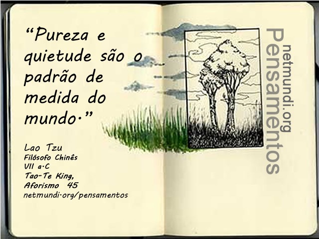 Lao Tzu, Filósofo Chinês - Autor do Tao Te King