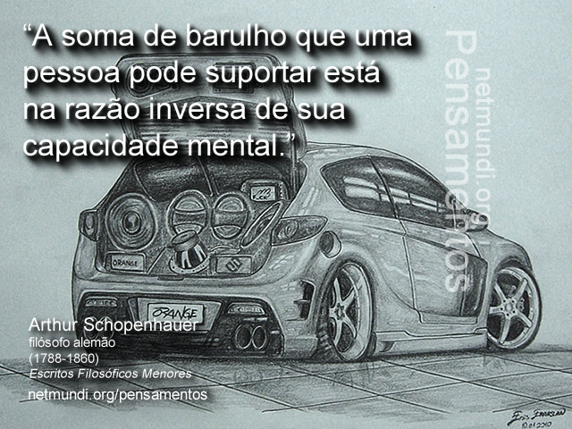 Schopenhauer, filósofo alemão, O mundo como vontade e representação