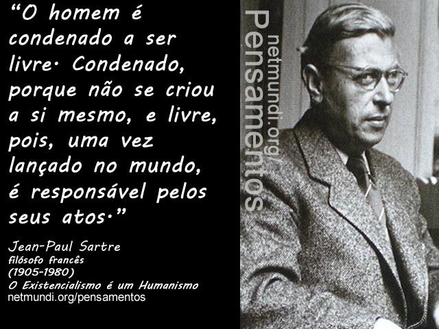 Jean-Paul Sartre, filósofo francês