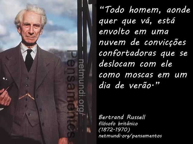 Bertrand Russel, filósofo Britânico